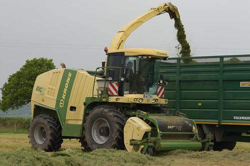 Krone Big X 600 Self Propelled Forage Harvester