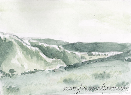 horseshoe pass tonal sketch
