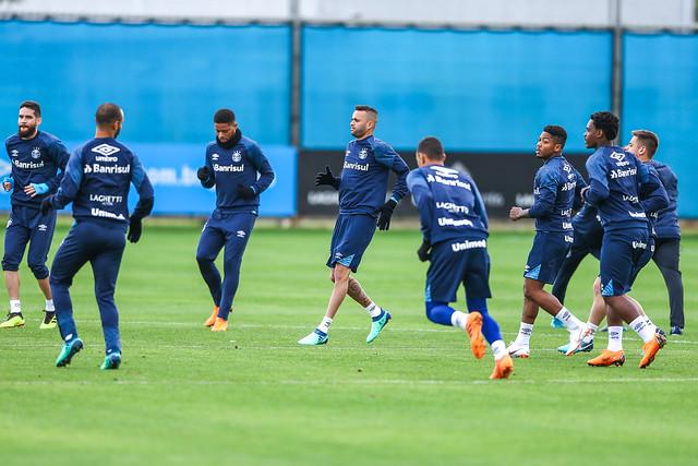 Treino Grêmio 03/07/18