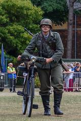 Re-enactment German Soldier