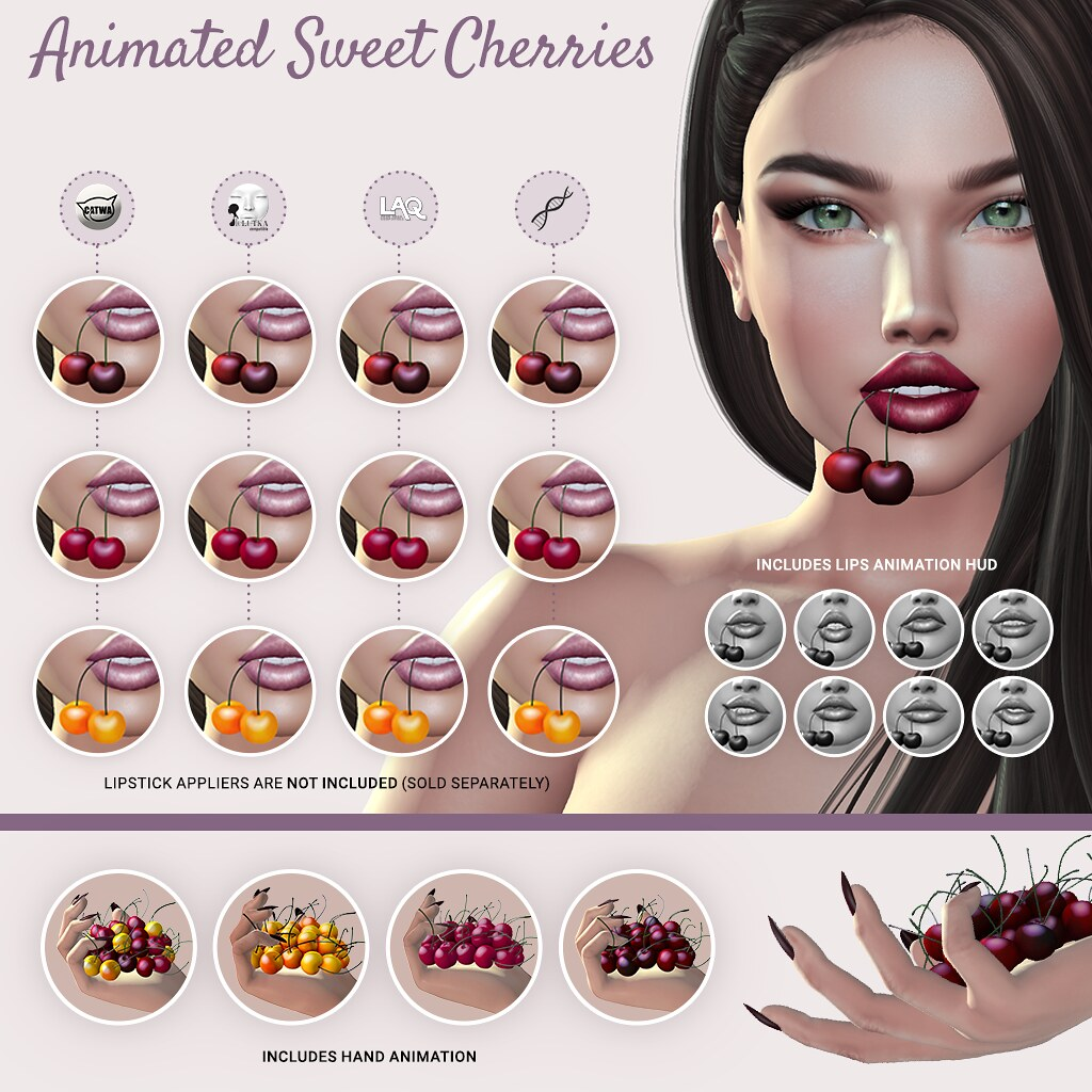 SEmotion Libellune Animated Sweet Cherries