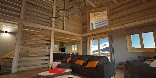 1_HomeMade_Architecture_Chalet_Louise_Le_Grand_Bornand_intérieur_Séjou