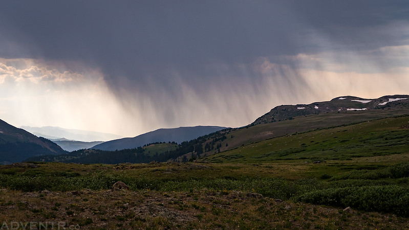 Independence Pass Rain