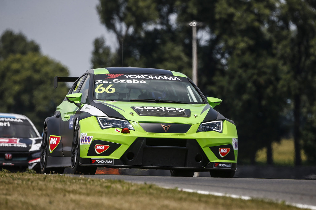 66 ZSABO Zsolt David, (hun), Seat Cupra TCR team Zengo Motorsport, action during the 2018 FIA WTCR World Touring Car cup race of Slovakia at Slovakia Ring, from july 13 to 15 - Photo François Flamand / DPPI.