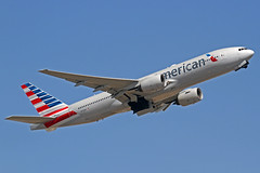 American Airlines Boeing 777-223(ER) N773AN LHR 30-06-18