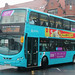 Arriva North East: 7629 YJ61OAZ VDL DB300/Wright Eclipse Gemini 2