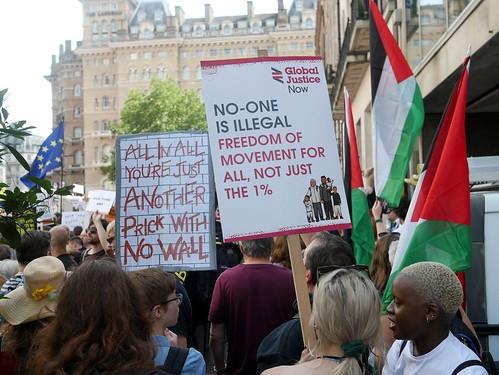 Carnival of Resistance - Stop Trump - London 2018 - 7