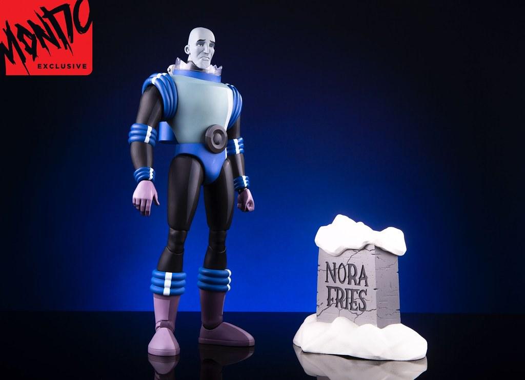 帶著一顆冰封之心,誓言復仇的悲情反派!! MONDO《蝙蝠俠:動畫系列》急凍人 Mr. Freeze 1/6 比例人偶作品 一般版 / MONDO限定版