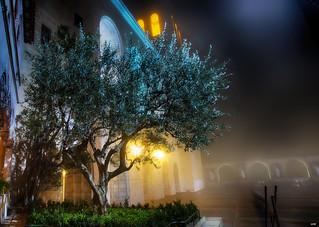 Entrada a la Basílica de Montserrat