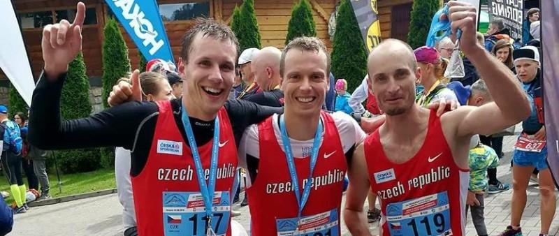 Krupička, Čípa, Fejfar, mistři světa v horském maratonu