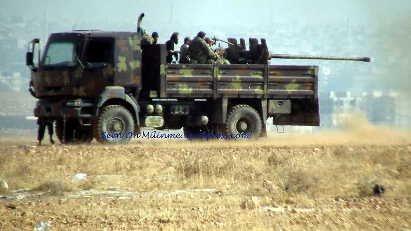 57mm-S-60-Renault-Kerax-330-rebels-aleppo-syria-2013-mln-1