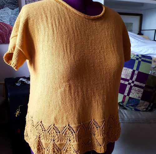 Paulette's Tegna knit with Hikoo Cobasi...truly awesome