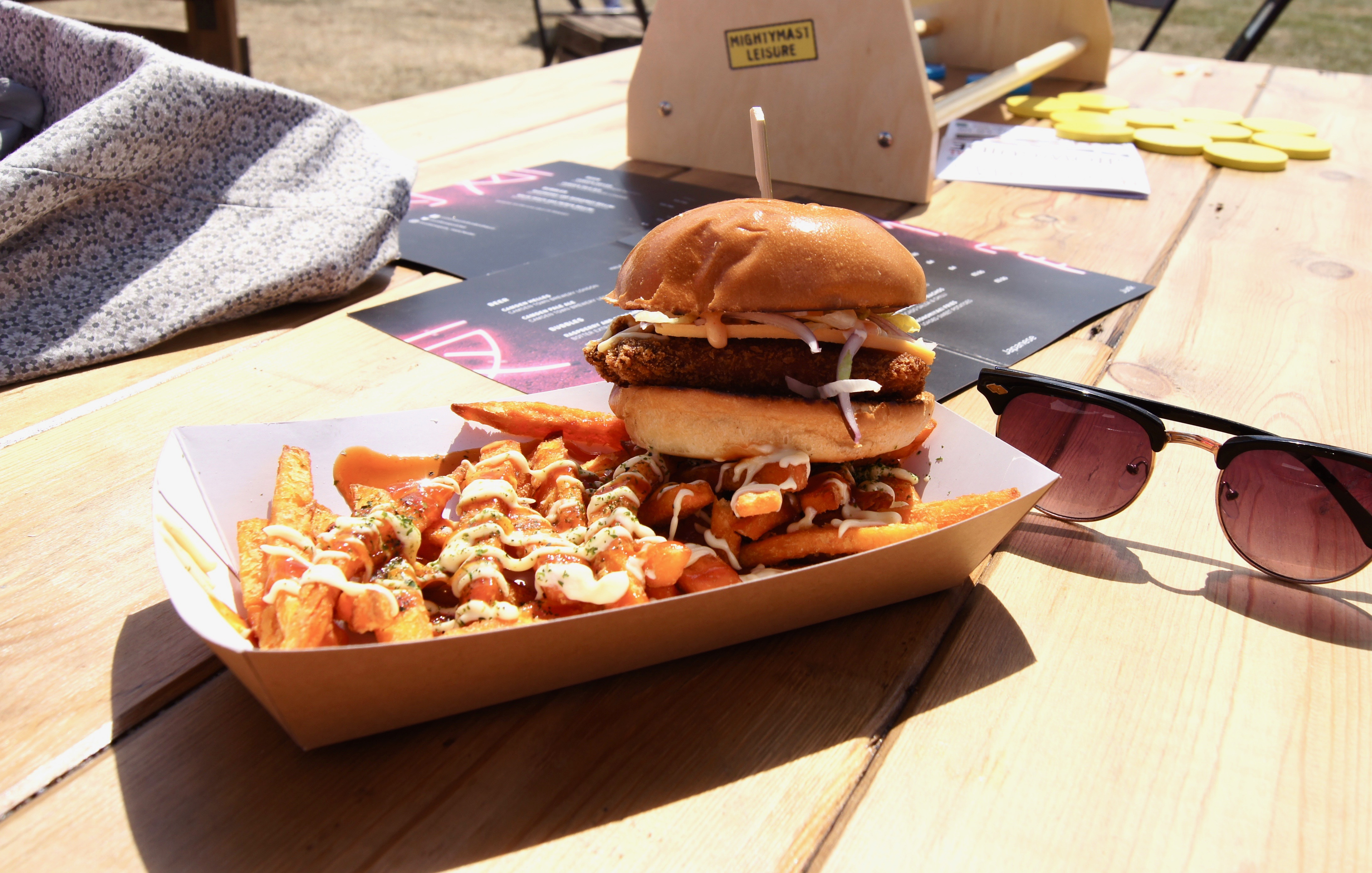 Manchester Eats Festival - katsu chicken burger