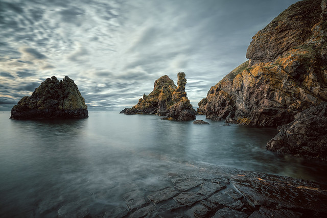Pettico Wick Bay, St Abbs Head