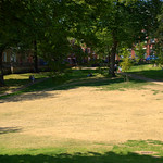 Very dry Winckley Square