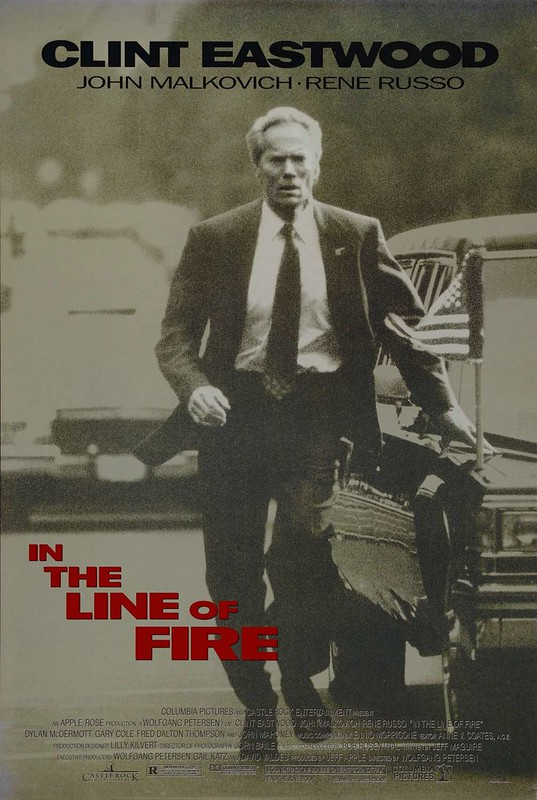 In The Line of Fire - Poster 1