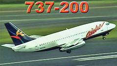 ALOHA Boeing 737-200s at Maui (2000)