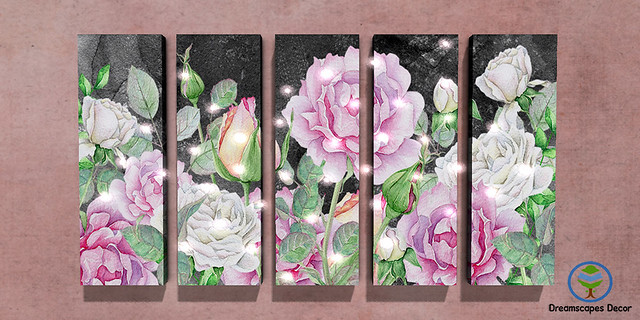 *Titania's Rose Garden* - Dreamscapes Art Gallery