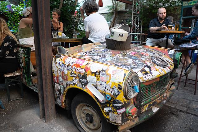 Szimpla Kert Ruin Bar Trabant
