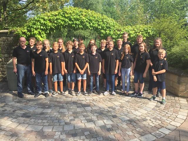 Ausflug Jugendkapelle - Tripsdrill 2018