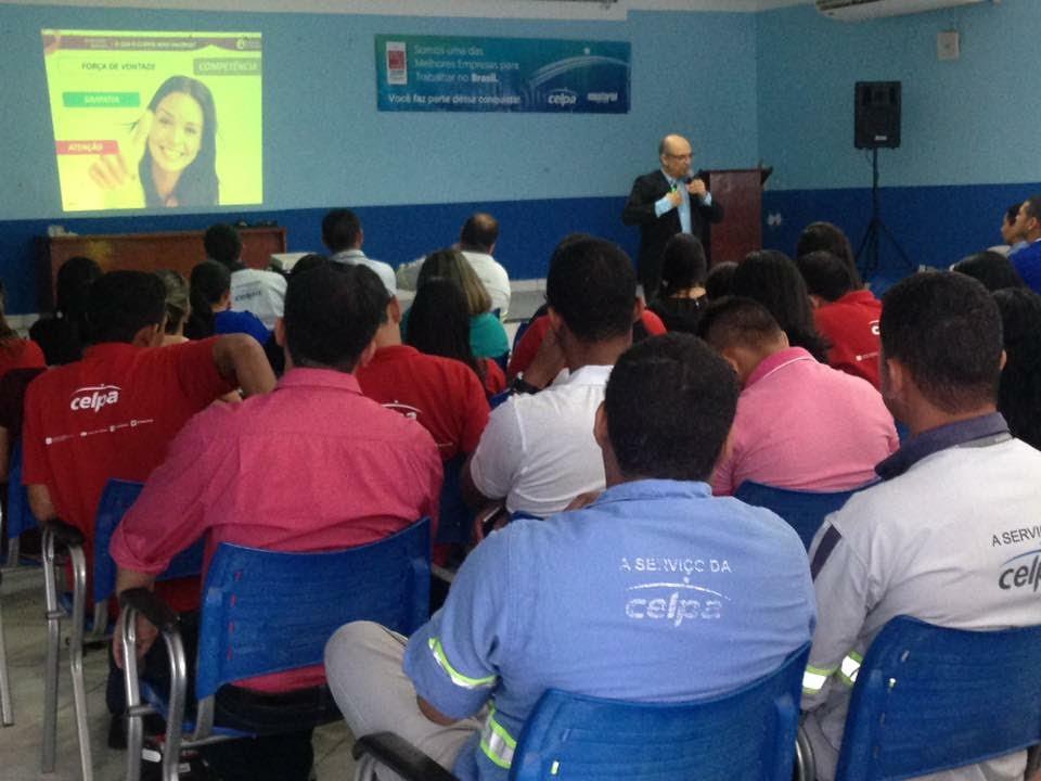 Celpa realiza treinamento para sensibilizar funcionários em Santarém, Celpa, treinamento