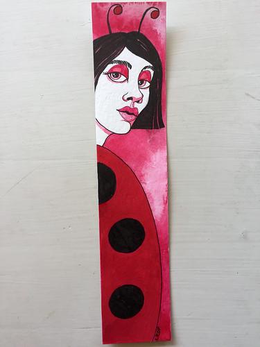 Ladybug Woman - July 2018