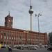 """Berlin : l'hôtel de ville (""""Rotes Rathaus"""")"""