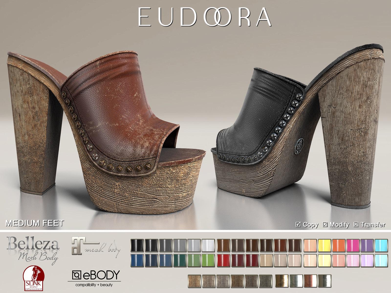 Eudora3D Last Summer Clogs FATPACK