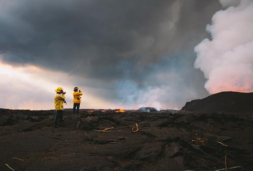 brysoncinderquarry eruption fissure8 kapoho lava leilani pāhoa hawaii unitedstates us