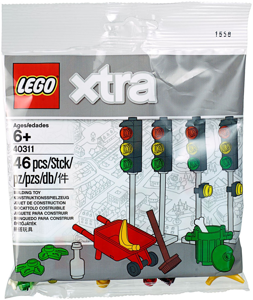 各種類型的配件一次大滿足!! LEGO 40309~40313 配件包 xtra Polybags
