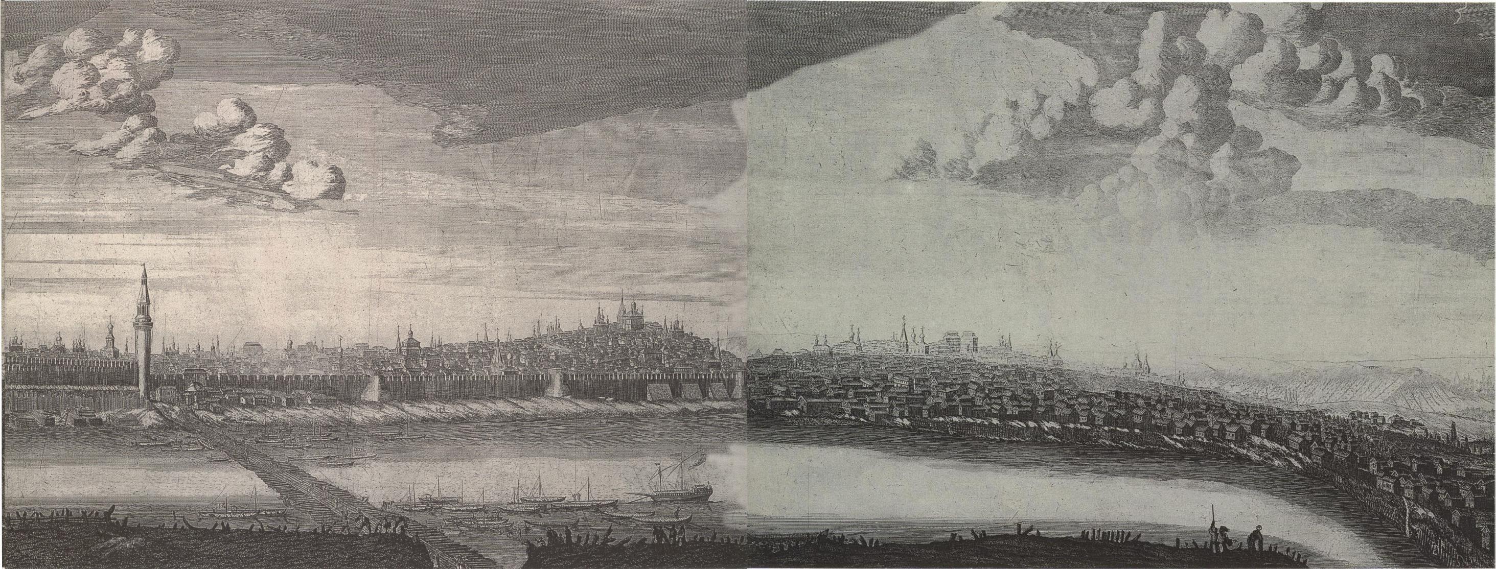 1707. Вид Москвы от Каменного моста6