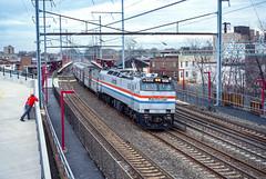 Amtrak; Elizabeth NJ; 11/2001