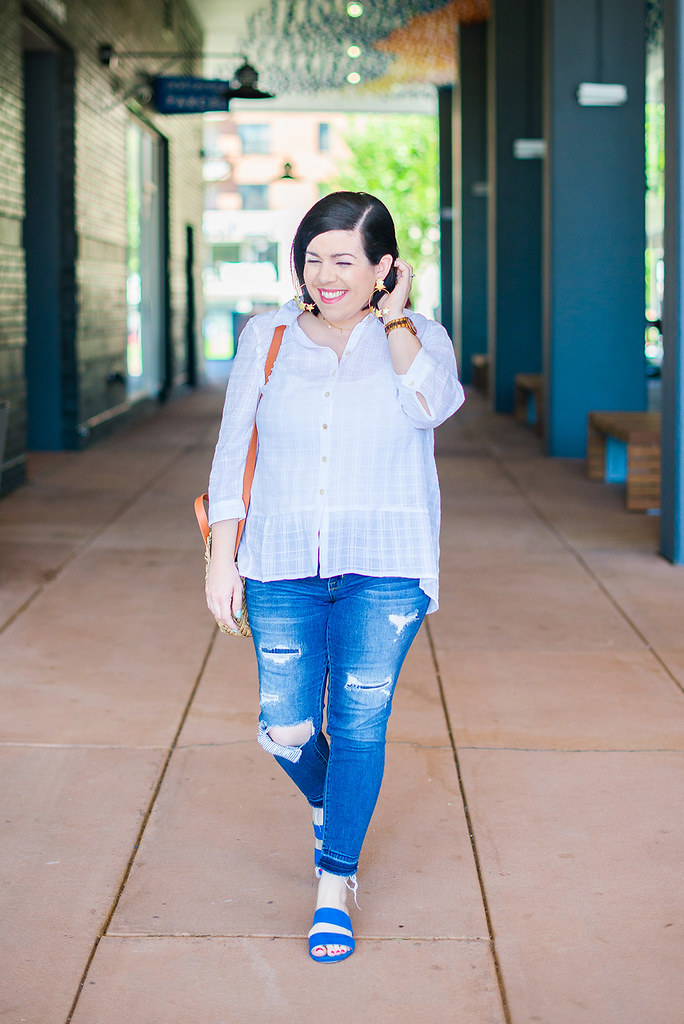 White Button Down-@headtotoechic-Head to Toe Chic