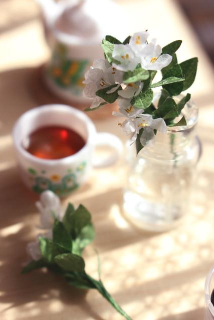 Jasmine and tea