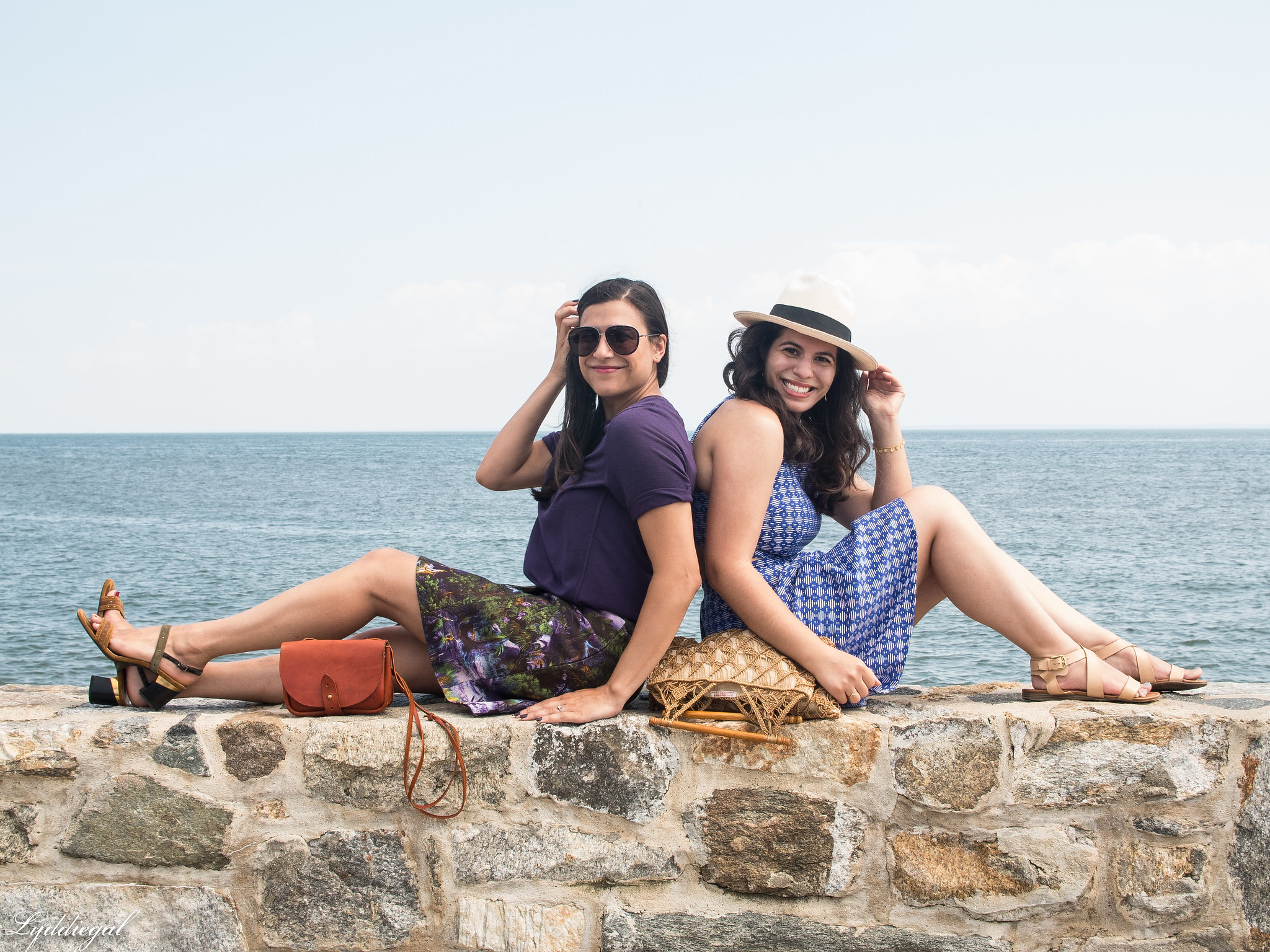 Lydia and Meg at the Sea Wall-2.jpg
