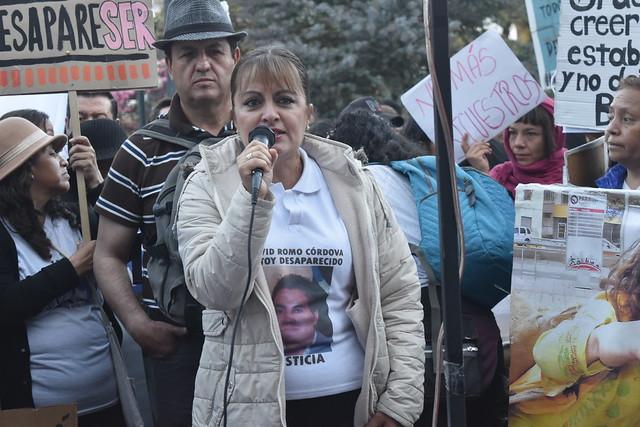 Gran marcha por las personas desaparecidas en Ecuador