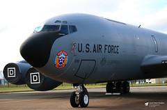 Boeing KC-135R Stratotanker United States Air Force RAF Fairford Glouc