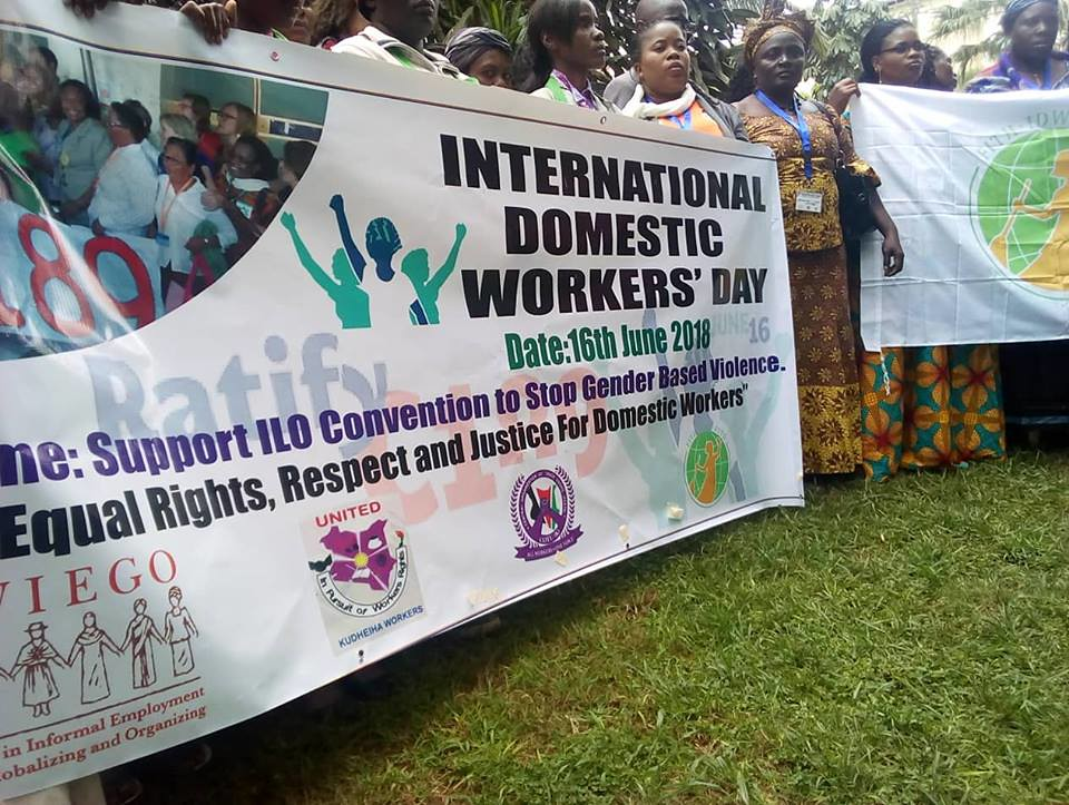 "2018-6-14~17 Kenya: ""Domestic Workers and Convention 189: Making it real!"" workshop in Nairobi"