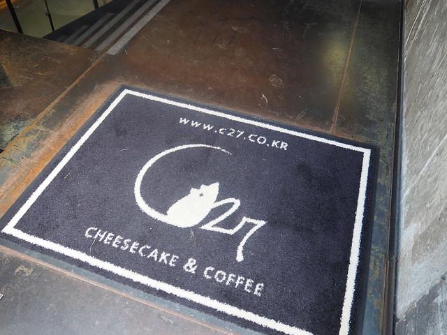 P6158078 C27( 씨이십칠) チーズケーキ専門店 カロスキル 韓国 ソウル カフェ ひめごと