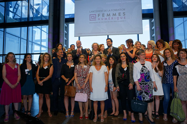 Lancement de la fondation Femmes@Numerique