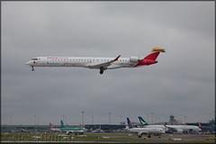 EC-MJO Bombardier CRJ1000 Iberia Regional / Air Nostrum