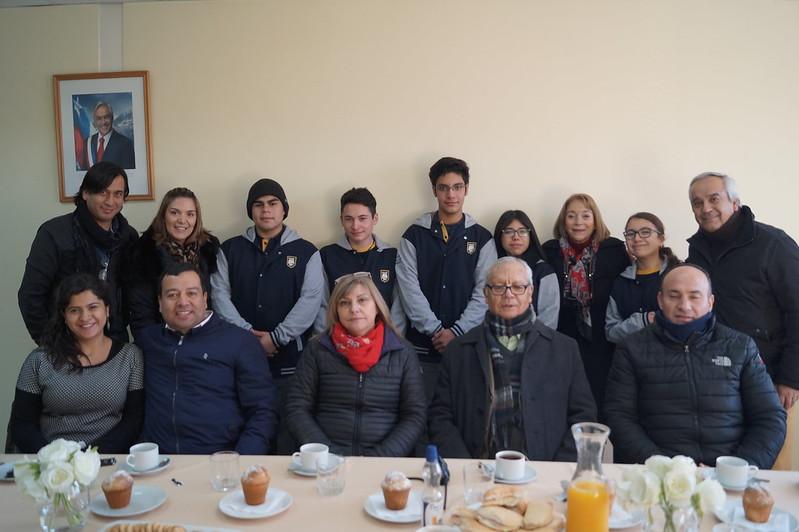Desayuno con Centro de Alumnos 2018
