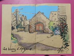 Maison du bourg d'Arzano