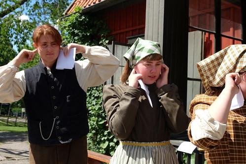Sebastian Lundqvist och Elvira Nordh