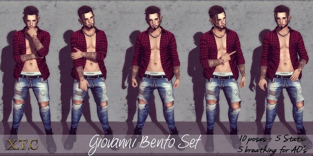 POSE FAIR! Giovanni Bento set (breathing)
