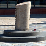 I love that someone has given a Fishergate Bollard a drink in the hot weather