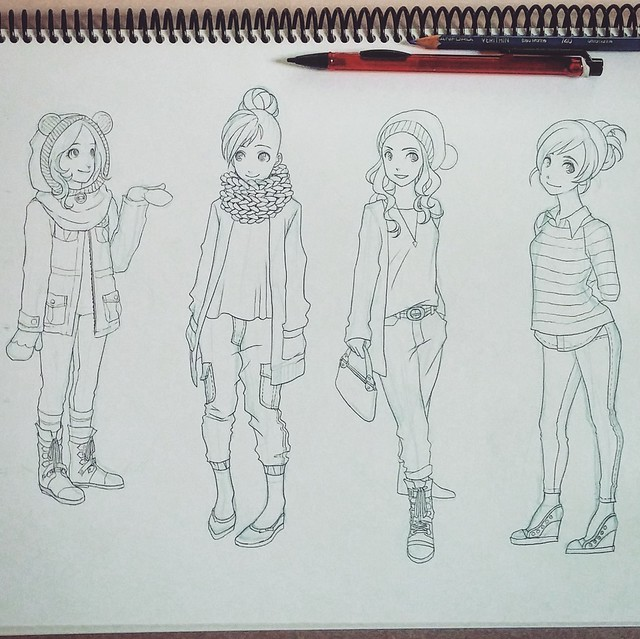 Outfit Sketch 3