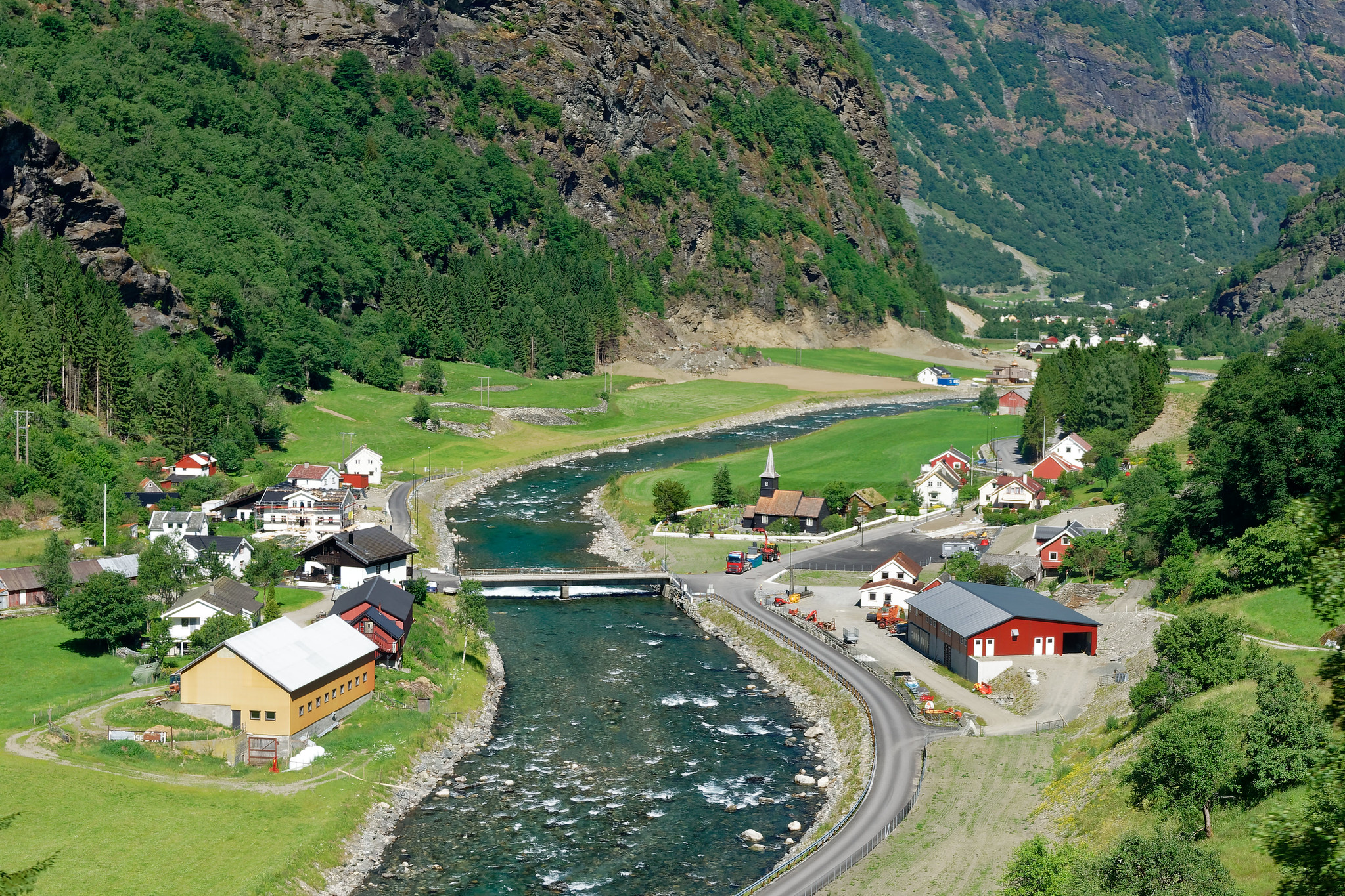 Somewhere near Flam, Norway
