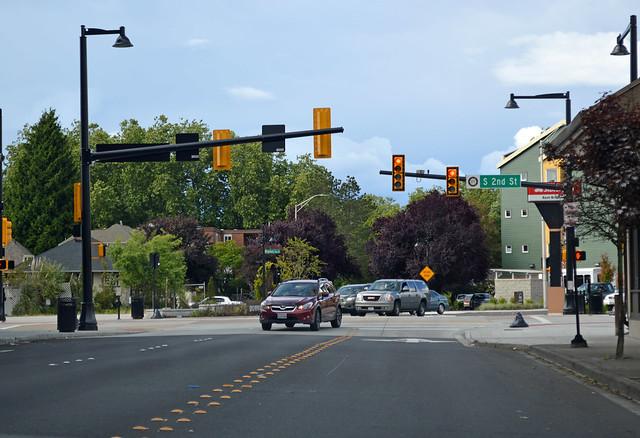 SR 515 @ SR 900 westbound