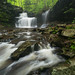 Ricketts Glen State Park Flowing by Ken Krach Photography